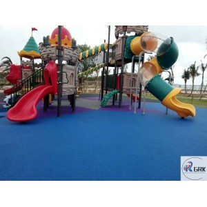 ASTM certificated non-toxic safety EPDM rubber flooring kindergarten playground