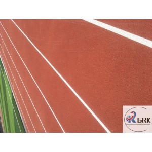 Outdoor 400m 6lanes standard synthetic running track material polyurethane rubber surface