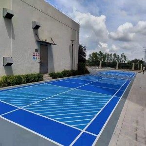3-7mm cushioned rubber flooring multi-use with best elasticity international environmental standard